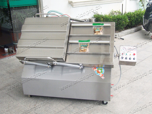 Incline Vacuum Packing Machine with Double Chambers