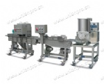 Mini Automatic Hamburger/Nuggets/Steak Processing Line