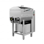 Vacuum Meat Mixer 340L with Twin-Axial